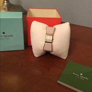 Kate Spade Cream Bow Watch